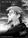 Icarus Wings promo page - Demetrio by TheInsaneDarkOne