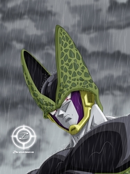 Perfect Cell Fanart by zika-arts
