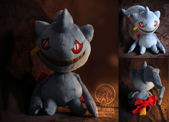 Banette custom plush by Peluchiere