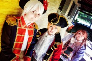 Prussia, England and Hungary. by MrCheshire