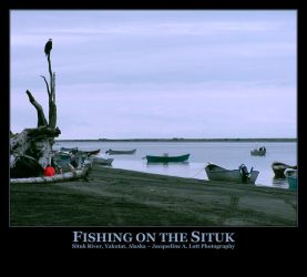 Fishing on the Situk by Isquiesque