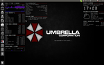Umbrella Conky by exarobibliologist
