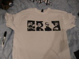 Depeche Mode tee WIP by Eagly92