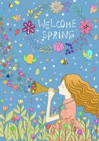 Welcome Spring by quillshwammy