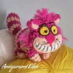 Cheshire cat amigurumi by AmigurumiEilex