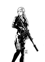 Gungirl by StereoiD