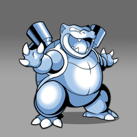 PKMN 20th BLASTOISE by SiegeEvans