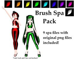 Brush Spa Pack DL by Neverlia