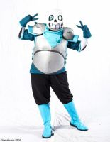[Underswap Cosplay] Sansational Sans by NobleChinchi