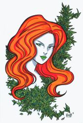 Poison Ivy Headshot3 by RichBernatovech
