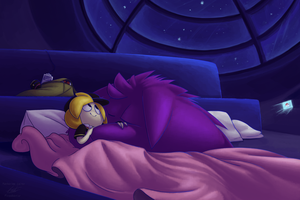A Night at the Pokecenter by Piranhartist