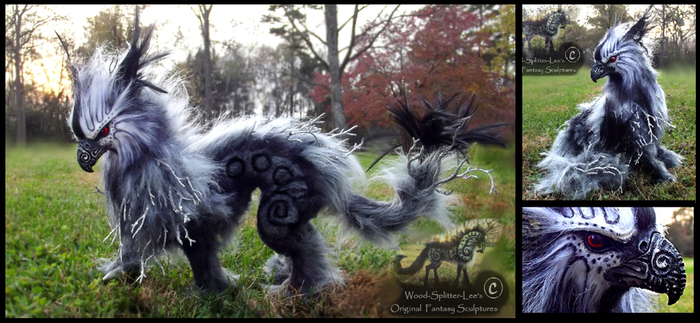 -SOLD- Poseable Thunder Guardian! by Wood-Splitter-Lee