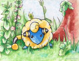 #179 Mareep (b) by little-ampharos
