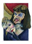 Anjelica Huston in The Witches by Caricature80