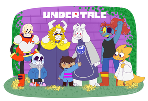 2 years and i'm still in undertale hell by skeleshibe