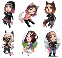 C - chibi batch by zero0810