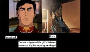 Iroh and Korra Shipping Motivational Poster by Animefreaknya
