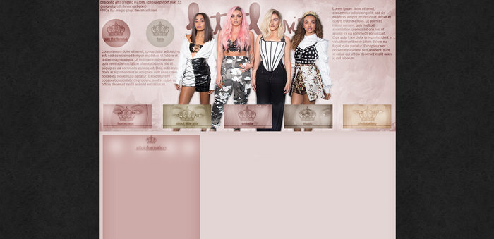 free design ft. Little Mix by designsbyroth