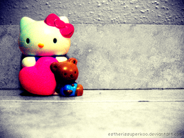 Hello Kitty by estherissuperkoo