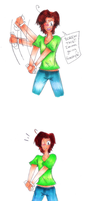 Romano plays JUST DANCE 3 by edwardsuoh13