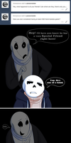 Undertale:: ParaverseTale:: A True Friend Ask by SpaceJacket