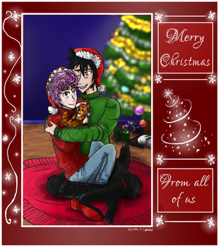 Lupole Christmas 2014 [COLLAB] by ay4u