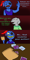 Undertale: Meet the Human by zeoxdragon