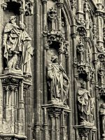 Relief front of a church by UdoChristmann