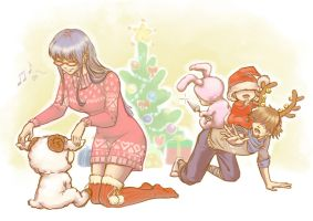 Christmas Eve by RaetElgnis