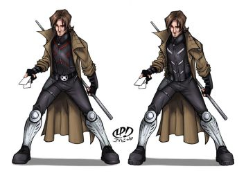 ::XCostume Gambit-ColorsME:: by IvyBeth