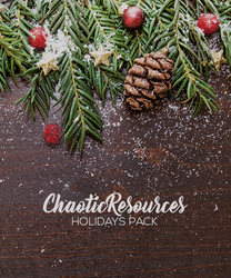 ChaoticResources's Holidays Pack by SoDamnReckless