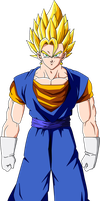 Vegetto Super Saiyan 2 by SbdDBZ