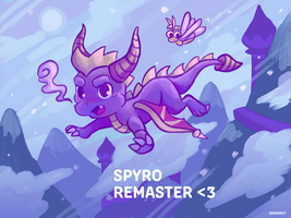 . Spyro in Wizard Peak . by Nahamut