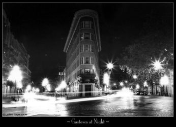 Gastown at Night by rissdemeanour