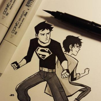 Super bros by JE3