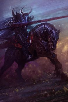 Black Knight by Hamsterfly