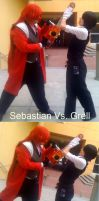 Sebastian Vs. Grell by LovinAsianChik