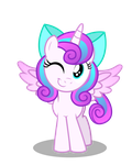 Filly Flurry - Wink by AleximusPrime