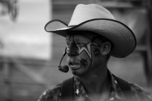 The Rodeo Clown by greenwalled1