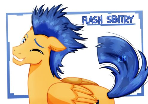 Flash Sentry_Smile for us by jotakaanimation