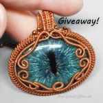 Dragon Eye Pendant Giveaway by Gailavira