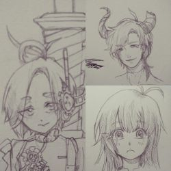 Bust Sketches by Yuudopts