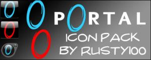 Portal Icon Pack by Rusty100