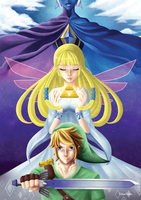 Skyward Sword - Tribute by Ichigokitten