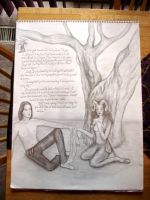 The Satyr and the Selkie by Sidhe-Etain