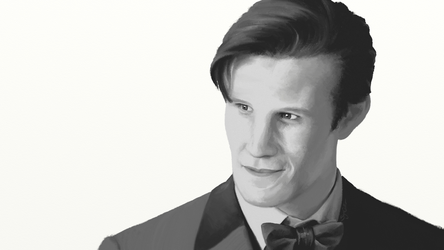 Matt Smith is the Doctor by SynCallio