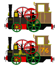 Theo The Small Railway Traction Engine by islandofsodorfilms