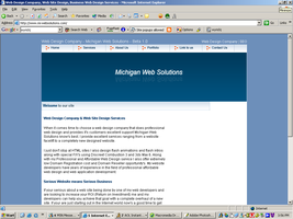 Michigan Web Solutions layout by wyrickj