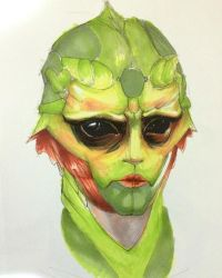 Thane Krios by Acousticletters