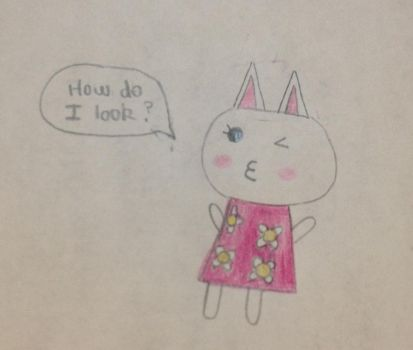 Blanca the Faceless Cat by Sweetbitterness15